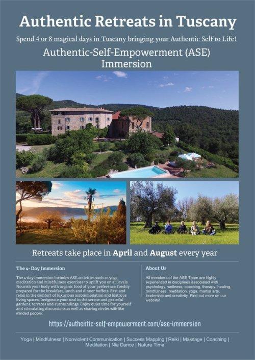 Authentic Retreats in Tuscany