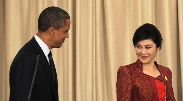 Barack Obama, Yingluck Shinawatra