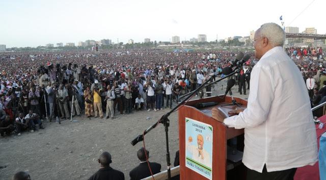 Lowassa Jangwani Mkutano wa Ufunguzi wa Kampeni UKAWA