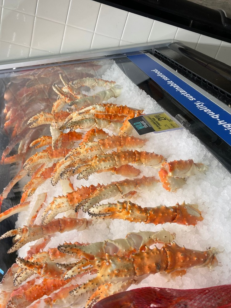 Seafood Counter at Safeway