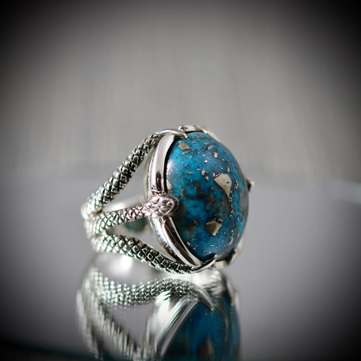 925 Silver Ring Feroza buy in pakistan