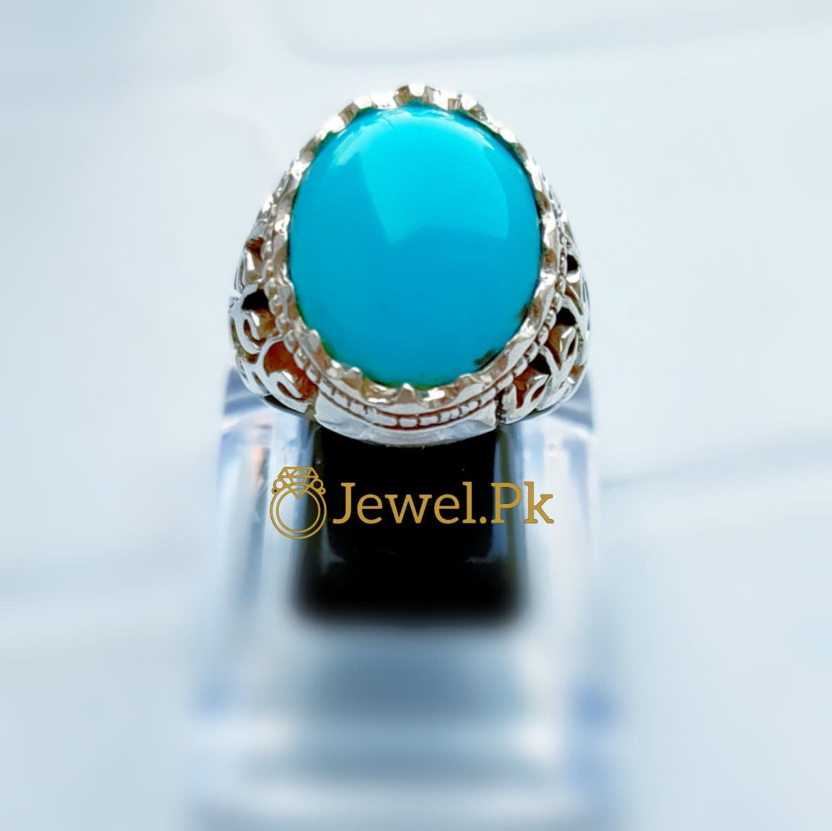 Turquoise Ring - 925 Silver Ring