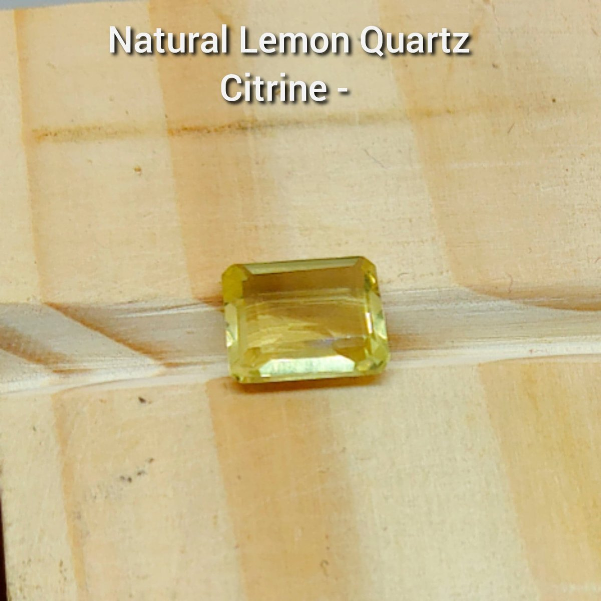 Natural LEmon Quartz - Citrine - Buy Gemstones online in Pakistan