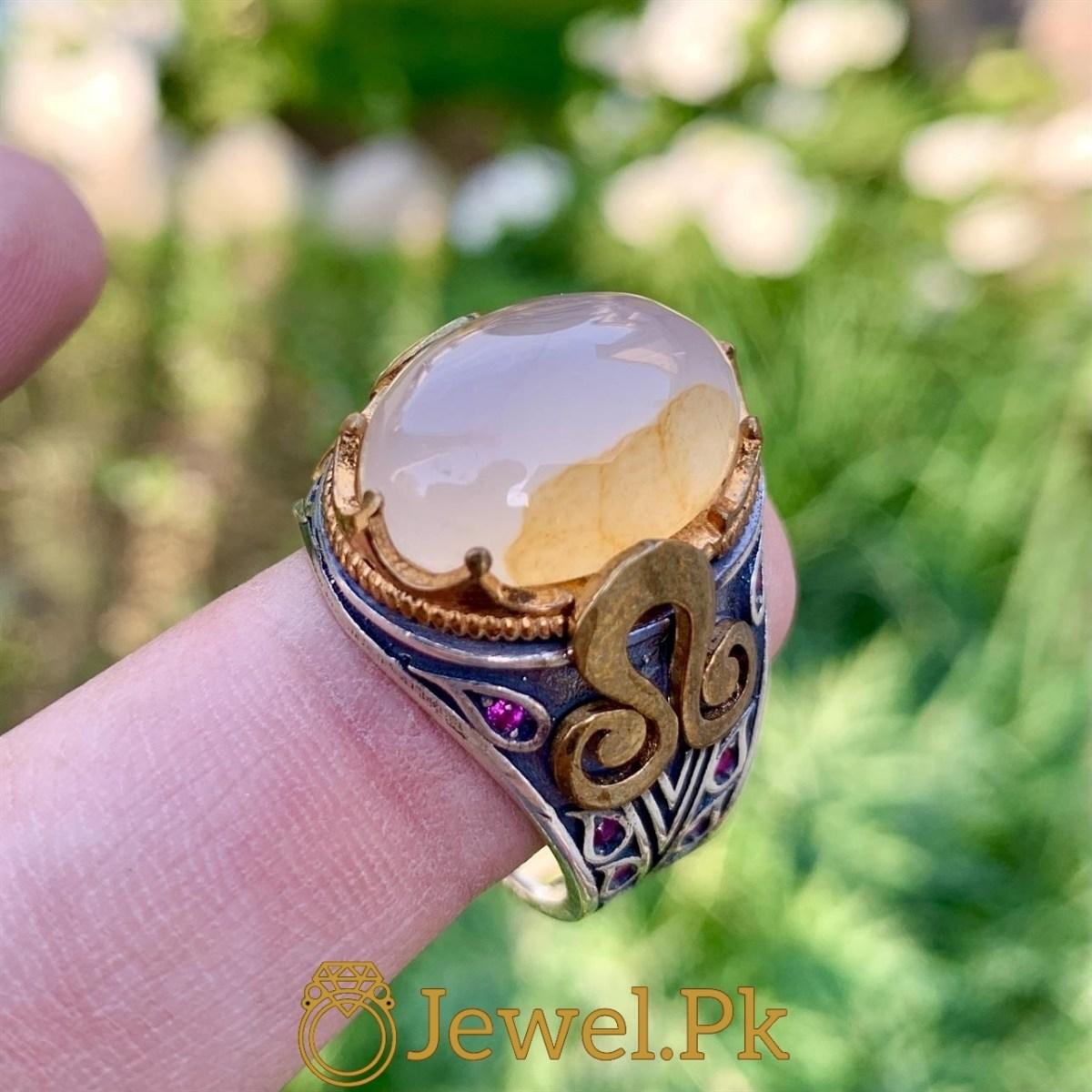 Turkish 925 Silver Rings in Pakistan