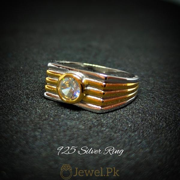 Zircon Ring for Men Decent and Beautiful