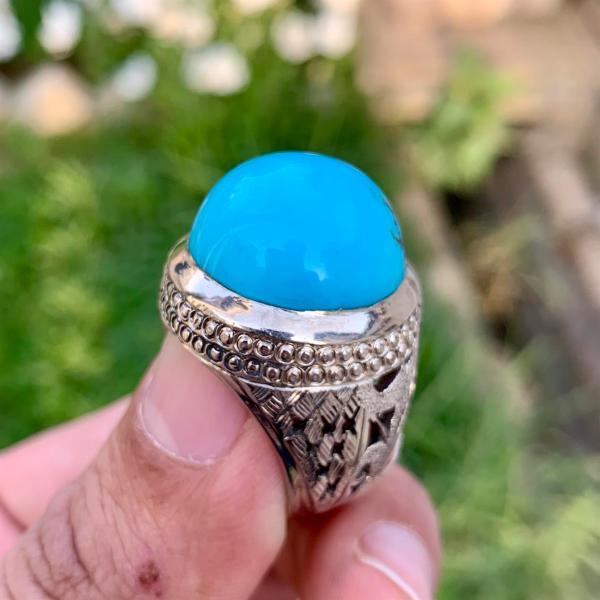 Natural Turquoise - Neyshabur Feroza - Turquoise