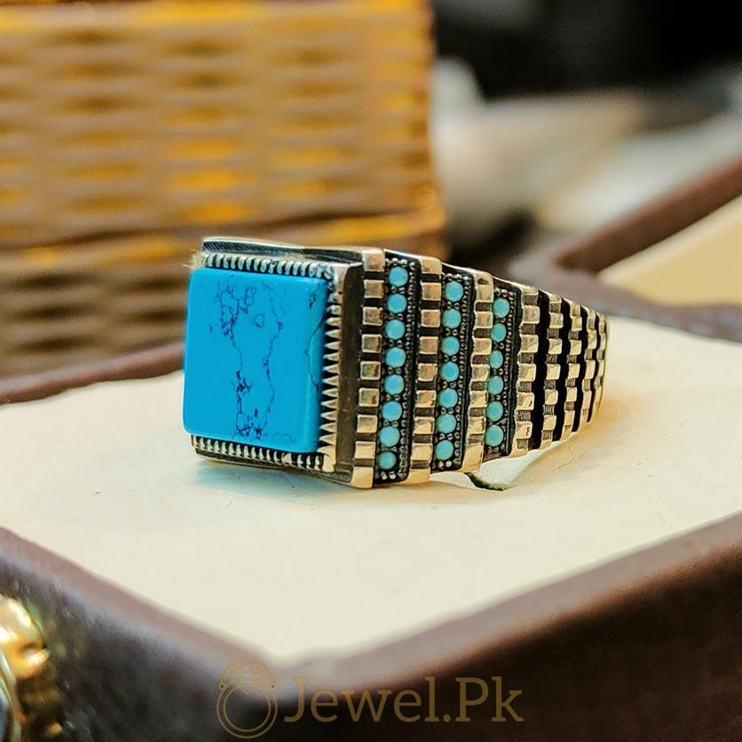 Turkish Ring + Turquoise 925 Silver + Turkish Sterling Silver 925 Rings