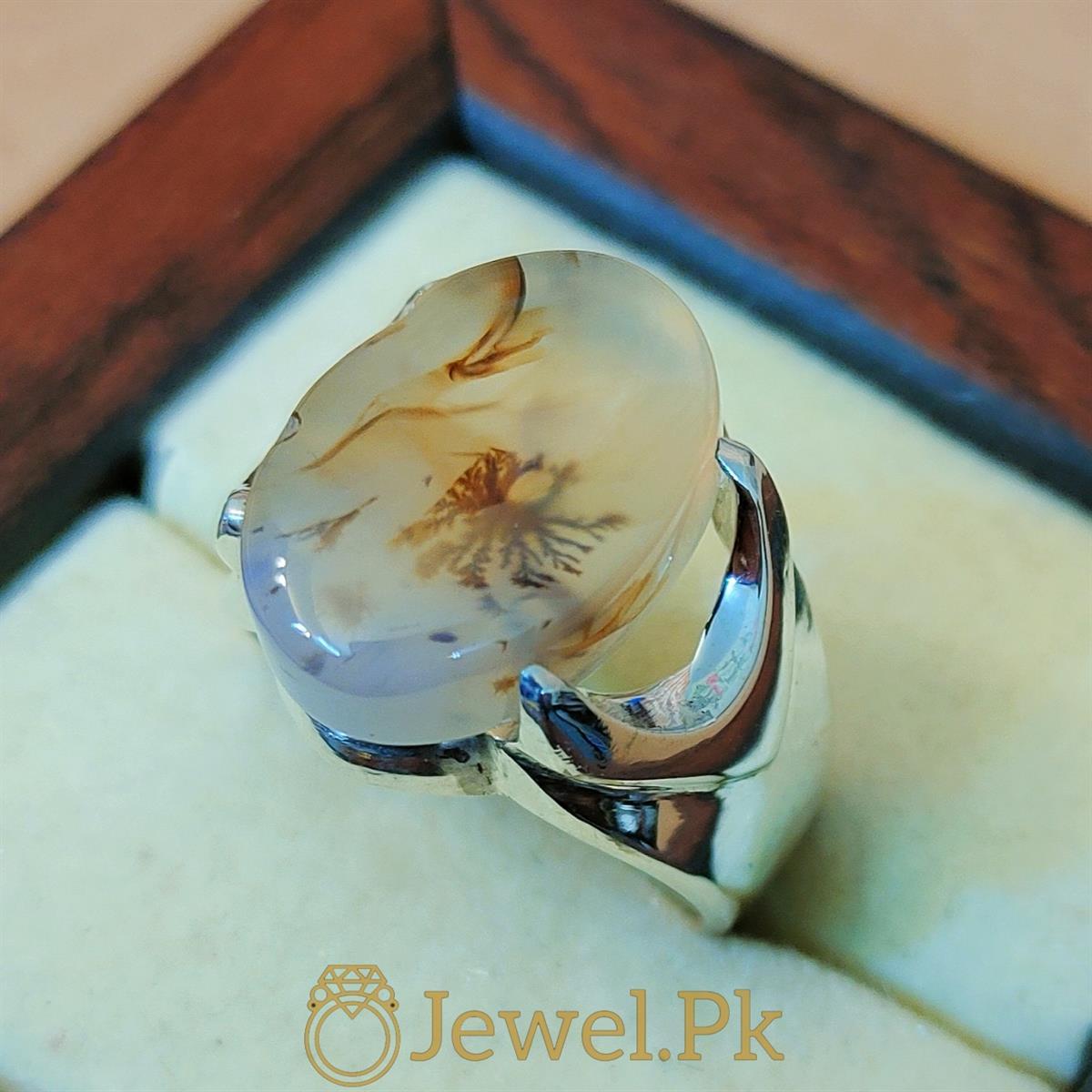 Natural Yemeni Agate Yamni Aqeeq Aiqi Haqiq ring 3 natural gemstones pakistan + 925 silver jewelry online