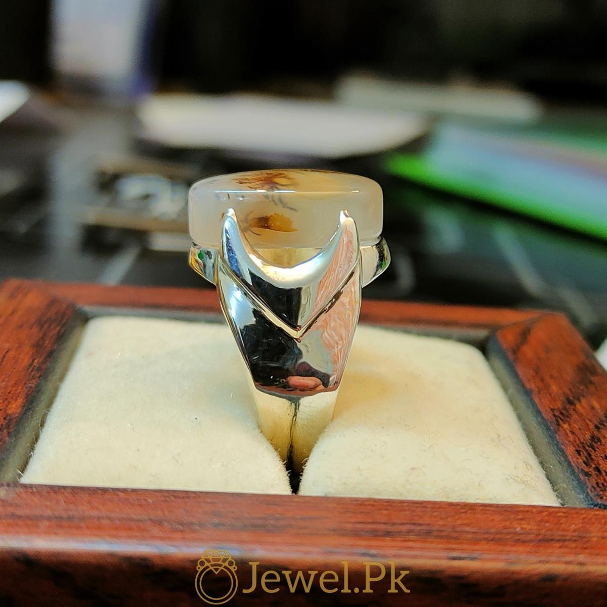 Natural Yemeni Agate Yamni Aqeeq Aiqi Haqiq ring 5 natural gemstones pakistan + 925 silver jewelry online