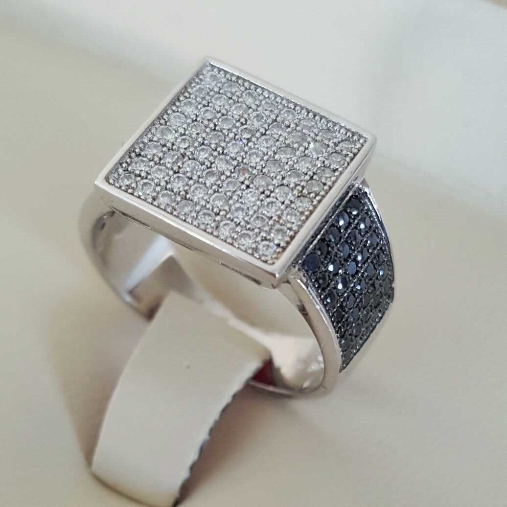Pure Silver 925 Men Rings Italian Rings Imported From Dubai 10 natural gemstones pakistan + 925 silver jewelry online