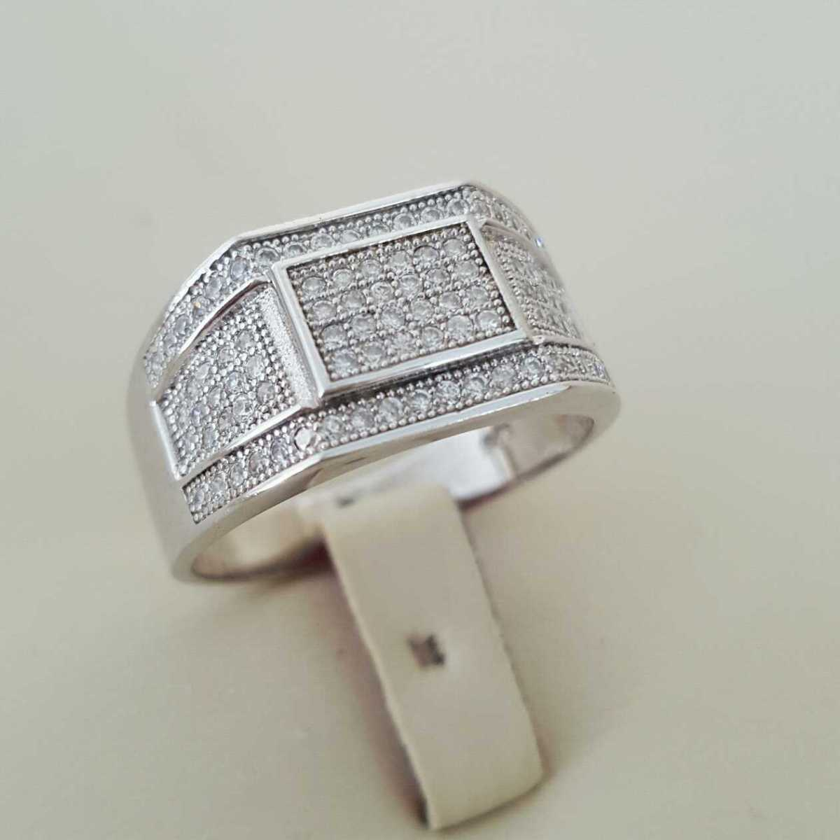 Pure Silver 925 Men Rings Italian Rings Imported From Dubai 3 natural gemstones pakistan + 925 silver jewelry online