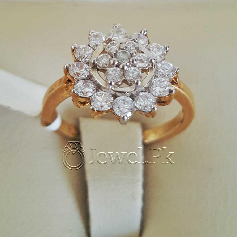 Pure Silver 925 Gold Plated Women Rings 999 0 2 natural gemstones pakistan + 925 silver jewelry online