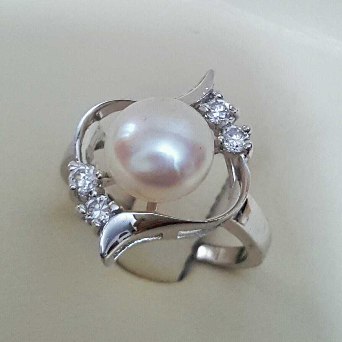Real Pearl with 925 Silver Beautiful Women Ring 1 natural gemstones pakistan + 925 silver jewelry online