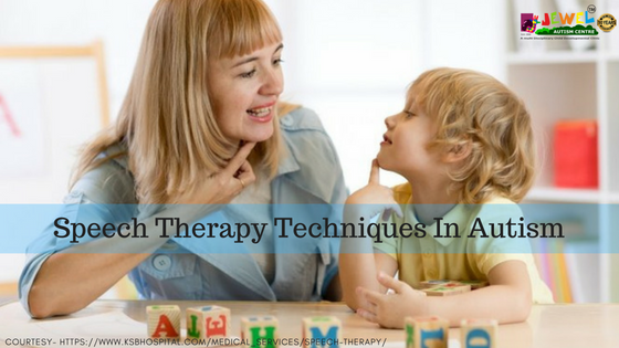 speech therapy techniques