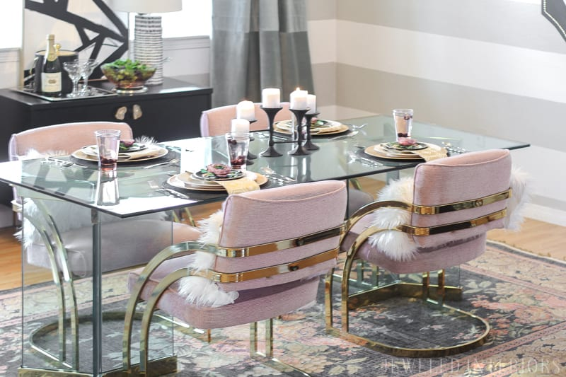 Check Out This Dining Room Make Over Craigslist To The Rescue Milo Baughman
