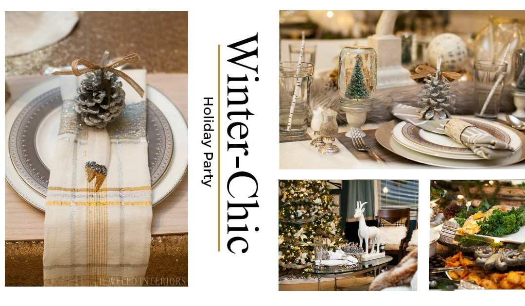 Rustic-Glam Holiday Party || a Chic Nature-Inspired Soiree and Home Tour