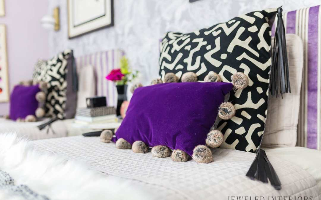 The BIG REVEAL!  Eclectic Glam Tween Bedroom  || New Year New Room Challenge