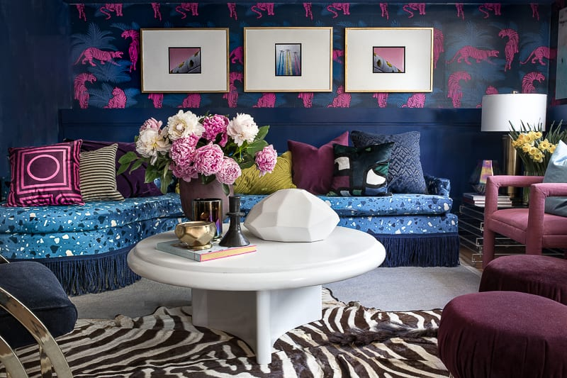 Jeweled Interiors || The Bold + The Beautiful Entertaining Space || Spring 2018 ORC Big Reveal