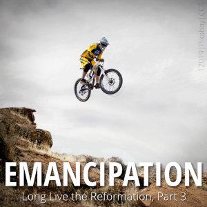 BMX rider jumping a bike