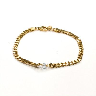 Marts bracelet panser armbånd i lækker kvalitet til super pris. Håndlavet af smykkedesigner og guldsmed Karina Mai