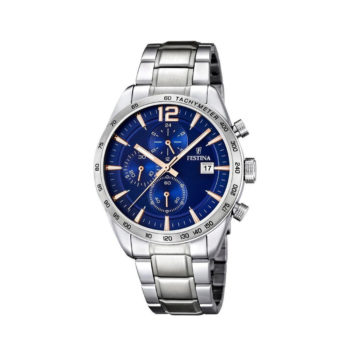 Festina Timeless Chronograph Silver Men's Watch