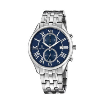 Festina Timeless Chronograph Silver Men's Watch