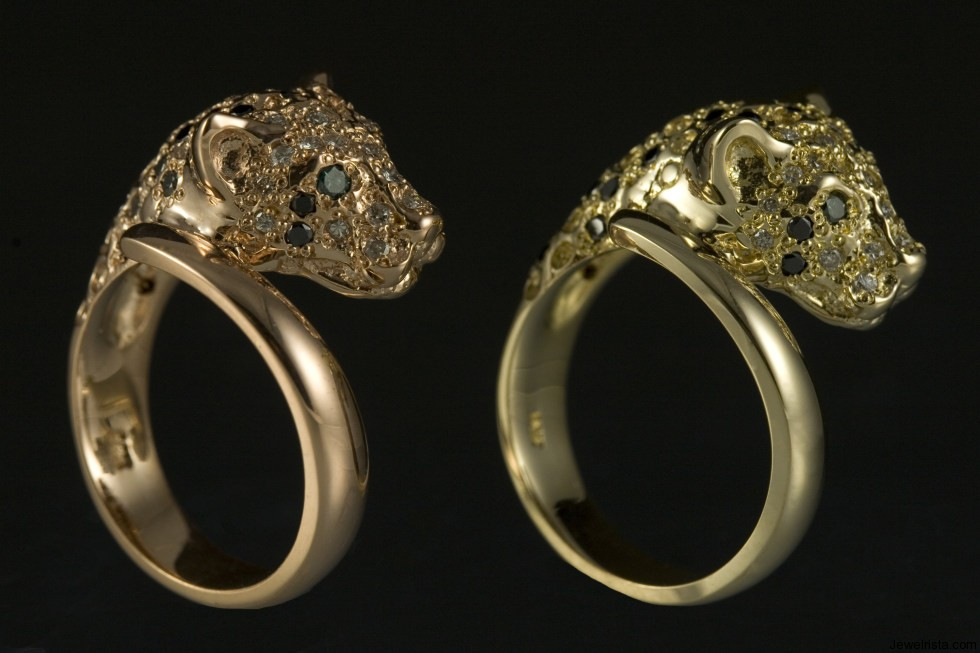 Leopard Rings By Jewelry Designer Jeffery Alters Jewelrista
