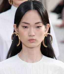 Runway Jewelry Trends Valentino Spring 2019, Hoop Earrings