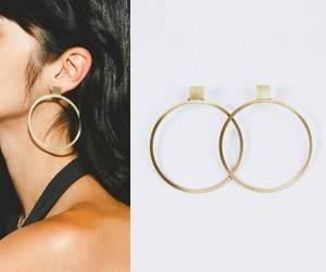SHOOP Hoops Hoop Earrings, Runway Jewelry Trends 2019