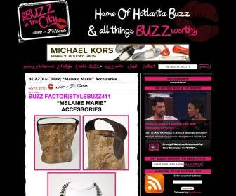 Thebuzzinthecity.com Featured MELANIE MARiE November 2010
