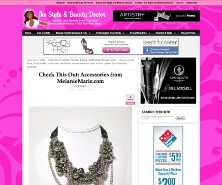thestyleandbeautydoctor.com featured MM Accessories August 2010