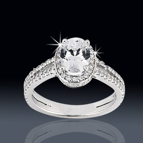 164 Tcw Amazing Oval Engagement Ring Aenr8683 6190