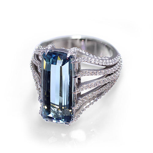 Blue Tourmaline Ring Jewelry Designs