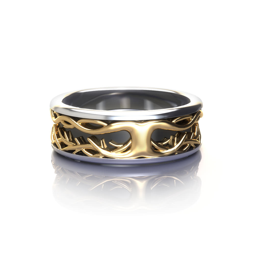 Tree Of Life Wedding Ring Jewelry Designs