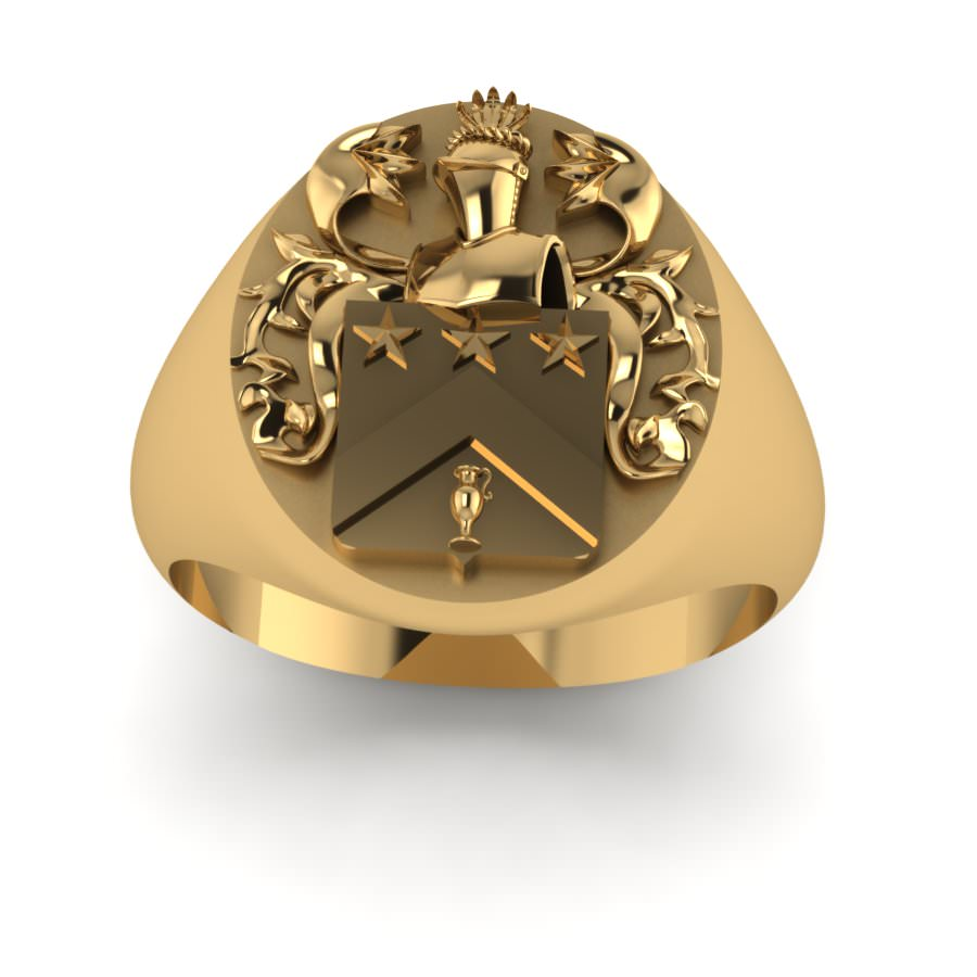 Family Crest Ring Jewelry Designs Blog