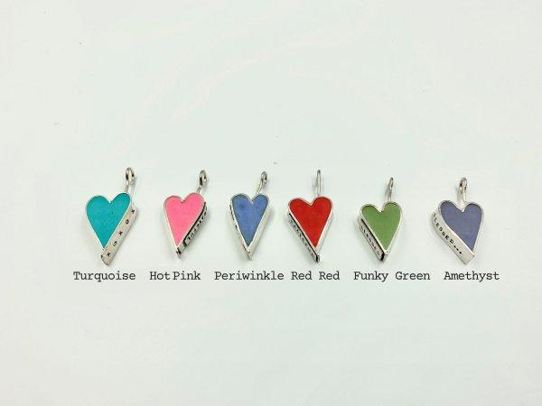 Concrete Hearts color display