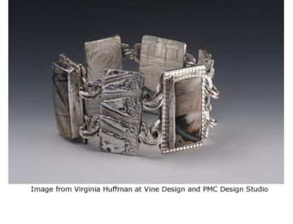 Do Si Do bracelet from Vine Design and PMC Design Studio