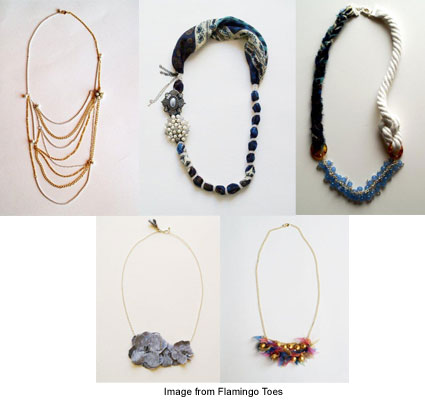 necklace giveaways and tutorials