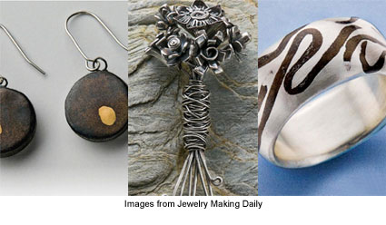 3 free metal clay projects from Jewelry Making Daily
