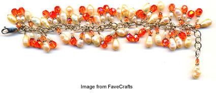 favecrafts tutorial cluster bracelet