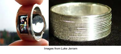 functional rings from Luke Jerram