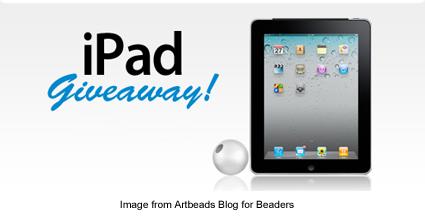 Artbeads iPad giveaway