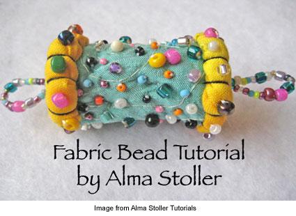 Alma Stoller fabric beads