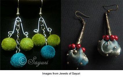 earrings from Jewels of Sayuri