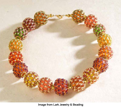Fortune Teller Beads Necklace from Diane Fitzgerald