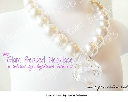 chunky beaded necklace from Daydream Believers