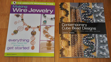 cover art of Making Wire Jewelry and Contemporary Cube Bead Designs