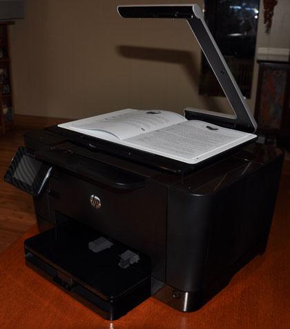 HP TopShot multi-function printer