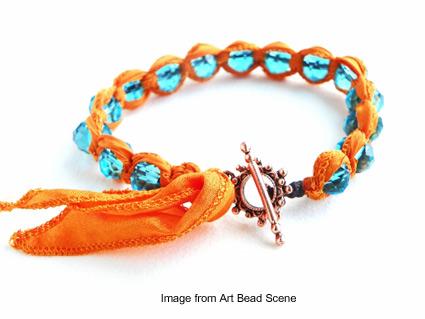 Erin Siegel's bohemian inspired bracelet