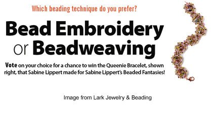 enter to win a Sabine Lippert original from Lark Jewelry & Beading